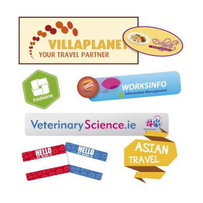 Stickers Laminated Upto125Cm² From Inferno